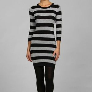 FRENCH CONNECTION bambi stripe sweater dress 2 4